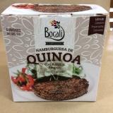 Hamburguesas de Quinoa y porotos negros