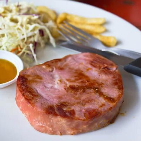 Ham Steak - Lomo Vetado Canadiense