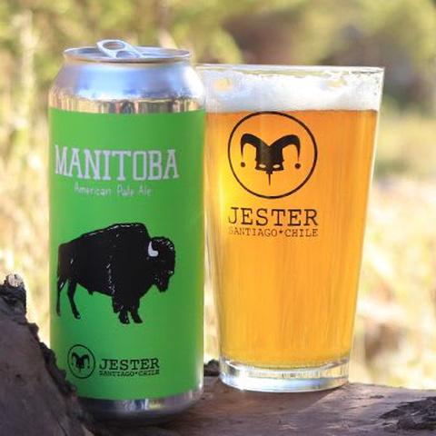 Cerveza Manitoba Jester 473cc