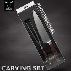 Set cuchillo y tenedor WAYU