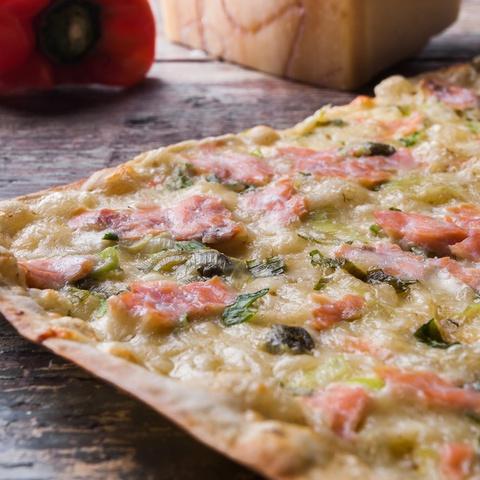 Sant Ambrogio · Pizza salmón