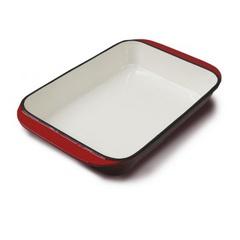 Fuente Enlozada Roja 35cm Briva Iron