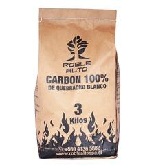 Carbón quebracho Bolsa 3 kg