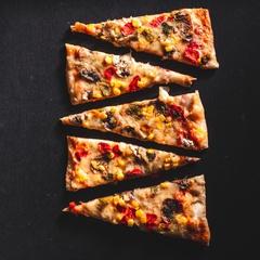 Pizza Vegetariana La Muzza