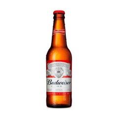 Cerveza Budweiser botella 355ml.