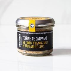 Pate con  Cebolla Confitada y Curry Hénaff