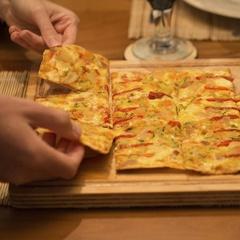 Pizza Verdu Wok Sant Ambrogio