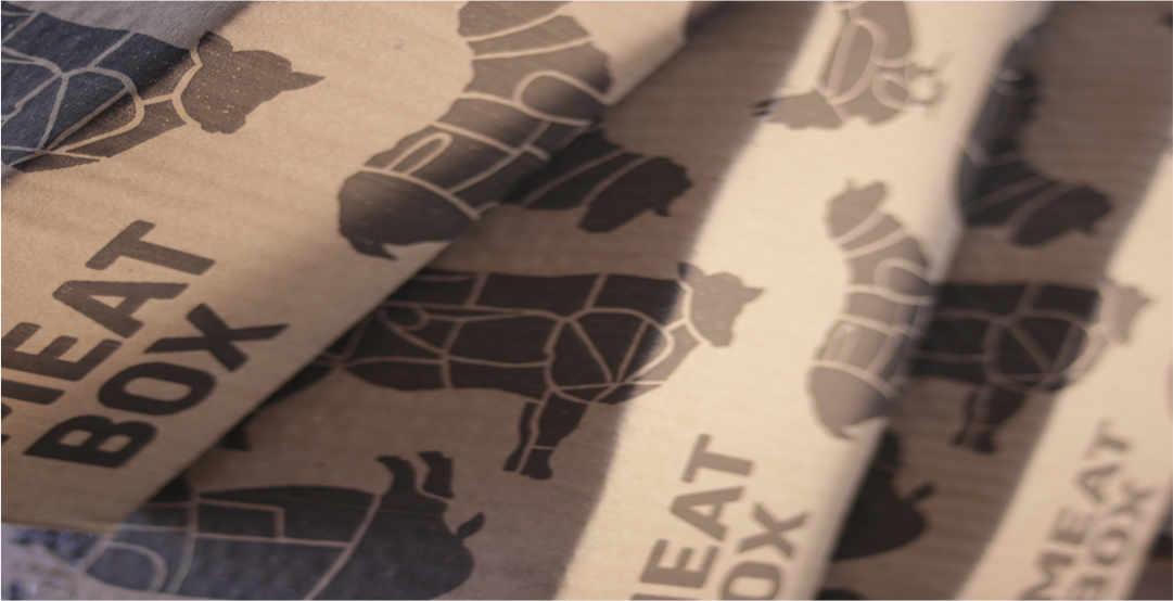 Meatbox packaging.