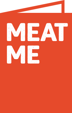 Logo de Meatme alternativo.