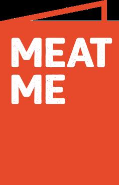 Logo de Meatme alternativo.